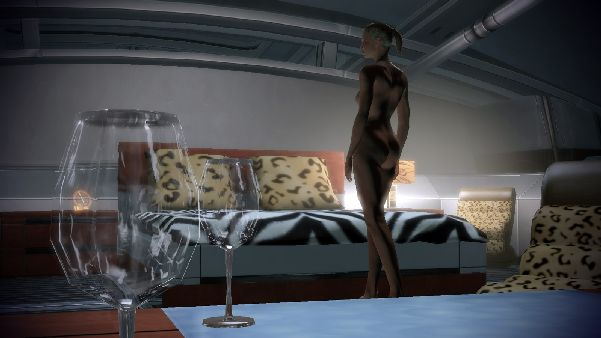 nude mass effect shepard