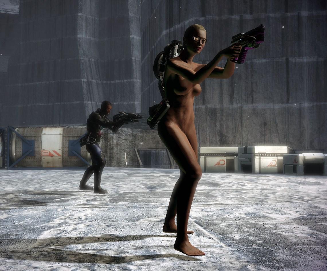 Mass Effect 2 Nude