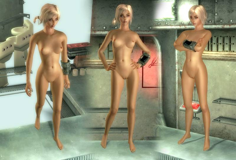 Fallout new vegas nude body pack