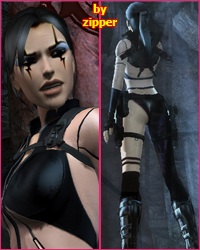 Razor Tomb Raider Underworld Swimsuit patch